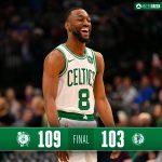 Boston Celtics 109-103 Dallas Mavericks