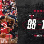 Utah Jazz 102-98 Chicago Bulls